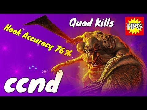Hook Accuracy 76% + Quad Kills | HoN Devourer By Ccnd