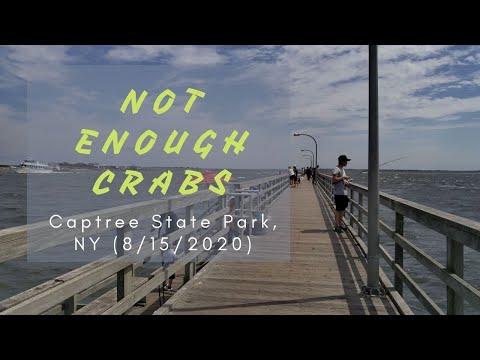 Extended Backyard: Captree State Park Fishing Pier And Beach Nice Summer Day 4K60 (8/15/2020)