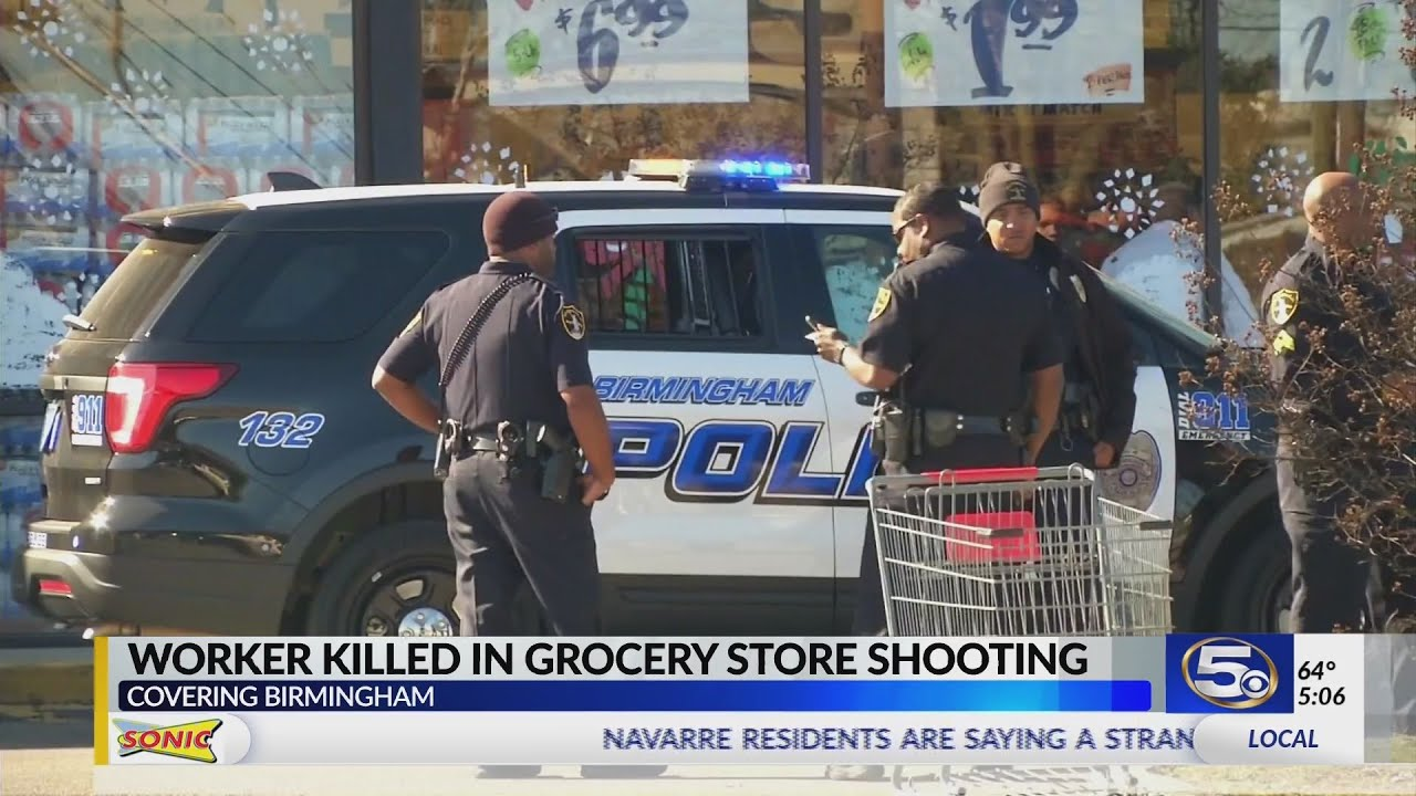 VIDEO: Employee shot and killed inside Birmingham Piggly Wiggly on Christmas Eve
