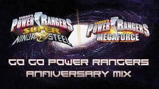 Ninja Steel Unreleased Music: GGPR 25th Anniversary Mix (+ bonus Megaforce)