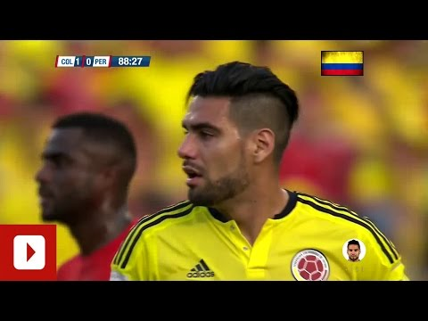 ►#9 Radamel Falcao║2018 World Cup qualification║Colombia vs Perú 2015.010.08