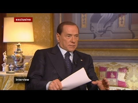 euronews interview - Silvio Berlusconi :