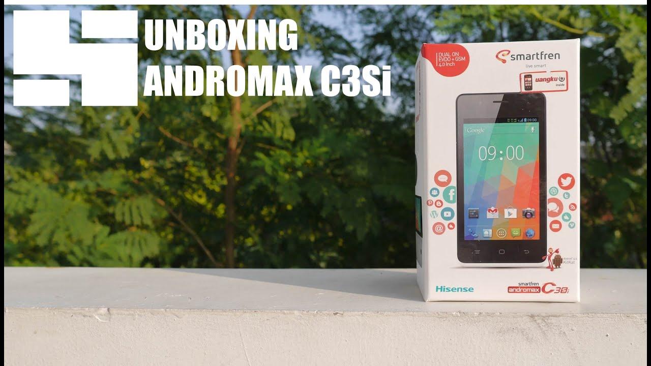 Unboxing Smartfren Andromax C3si Youtube