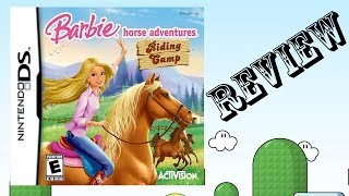 Barbie horse adventure riding camp ds review