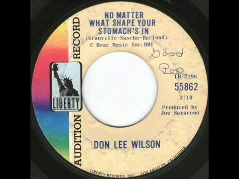 Don Lee Wilson - No Matter What Shape (Your Stomach's In)