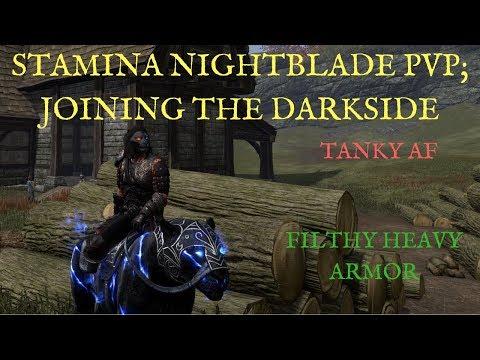 The Elder Scrolls Online: Joining the Dark Side (Heavy Armor Nightblade)
