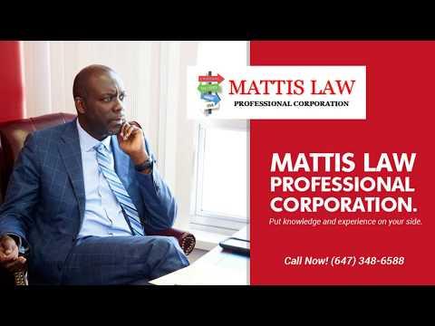 Law Firms in Toronto | Best Lawyer Office Brampton | Mattis Law Professional Corporation