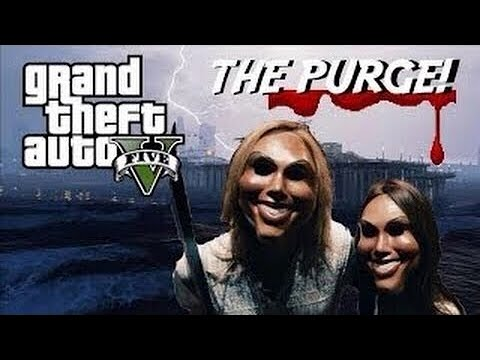 """How African Users acts When They Meet Purge Users """"PART 2"""" (GTA 5 Mods)"""
