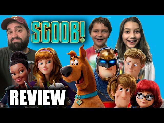 Scoob! Review with My Kids! Who Liked It More?!