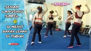 Senam Aerobic Gerakan Simple Melangsingkan Perut Ideal dan Lengan