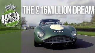 Driving a £16million Aston Martin DB4 GT Z