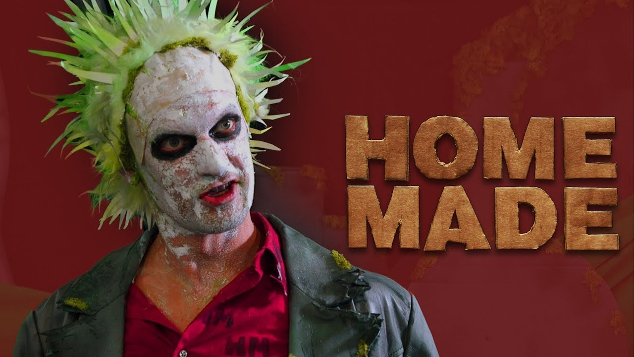Make Your Own Beetlejuice Costume Homemade Youtube