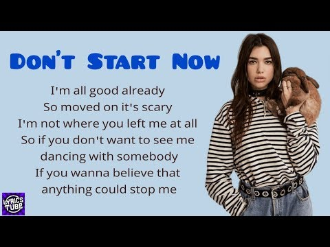 dua-lipa---don't-start-now-(-lyrics-)-🎼