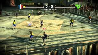 (Vidéo délire) Fifa Street 3-  France-Brésil [HD]