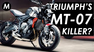New 2021 Triumph Trident Launched: The Yamaha MT-07 Killer?