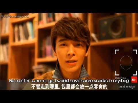 ENGSUB 130113 Bonrich Interview Super Junior M Siwon Donghae Kyuhyun