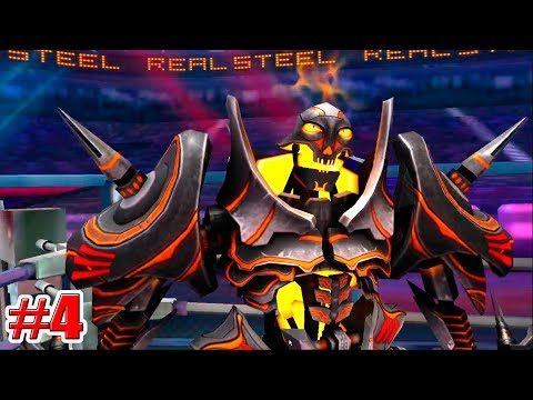 ВЫПАЛ НОВЫЙ РОБОТ!!! DREADLORD Real Steel World Robot Boxing (ЖИВАЯ СТАЛЬ) (4 серия)