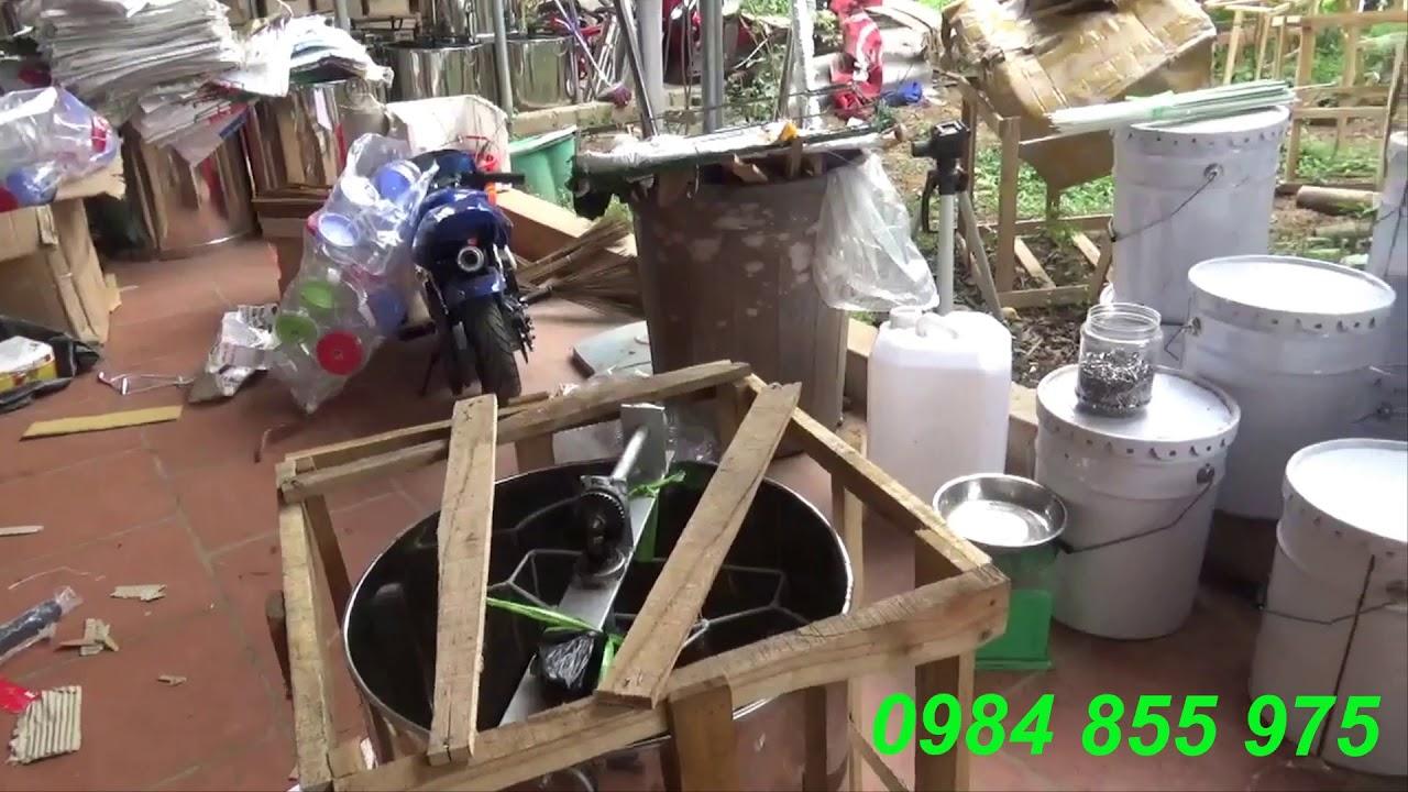 thùng quay mật ong 3 cầu , chất lượng ,uy tín .