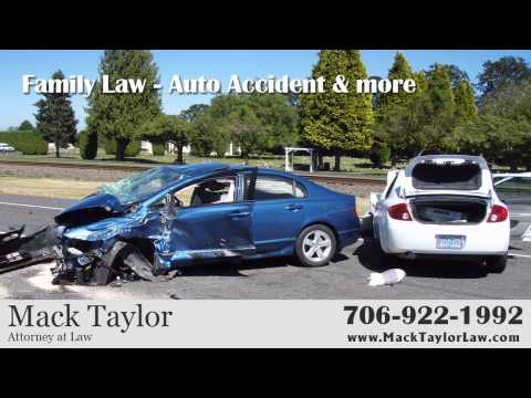 Augusta Auto Accident Attorney Mack Taylor