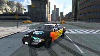 Police Car Drift Simulator | Android Gameplay
