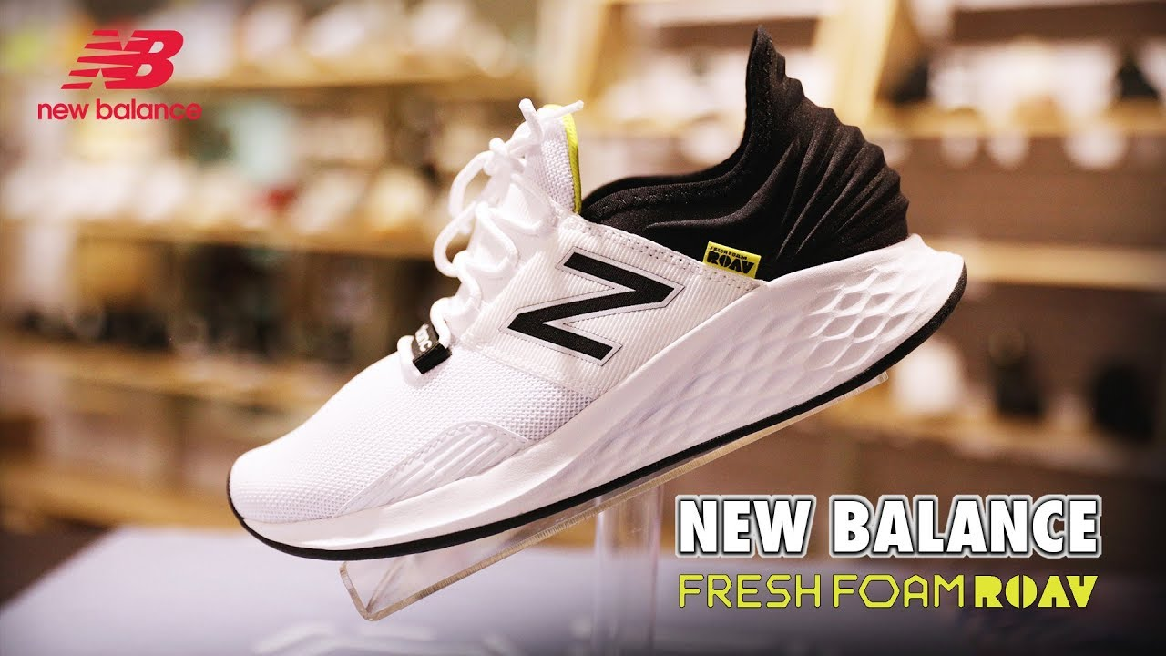 New Balance Fresh Foam Roav | UNBOXING VIDEO