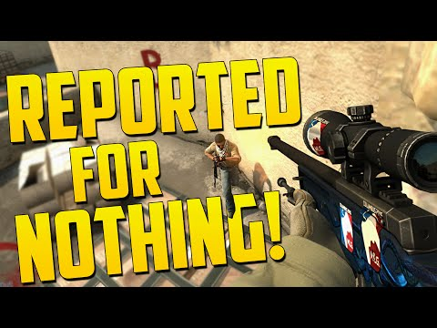 REPORTED FOR NOTHING! - CS GO Funny Moments in Competitive