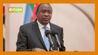 'Live within your budget,' President Kenyatta tells CJ Maraga and the Judiciary