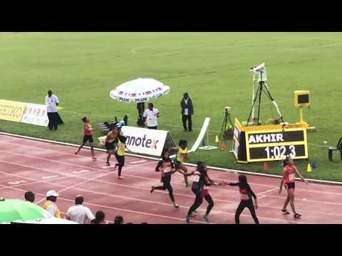 SUKMA 2018   4X400m Womens Finals   20 -  09 - 2018