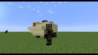 How to Build - Minecraft - Type 99 Apc