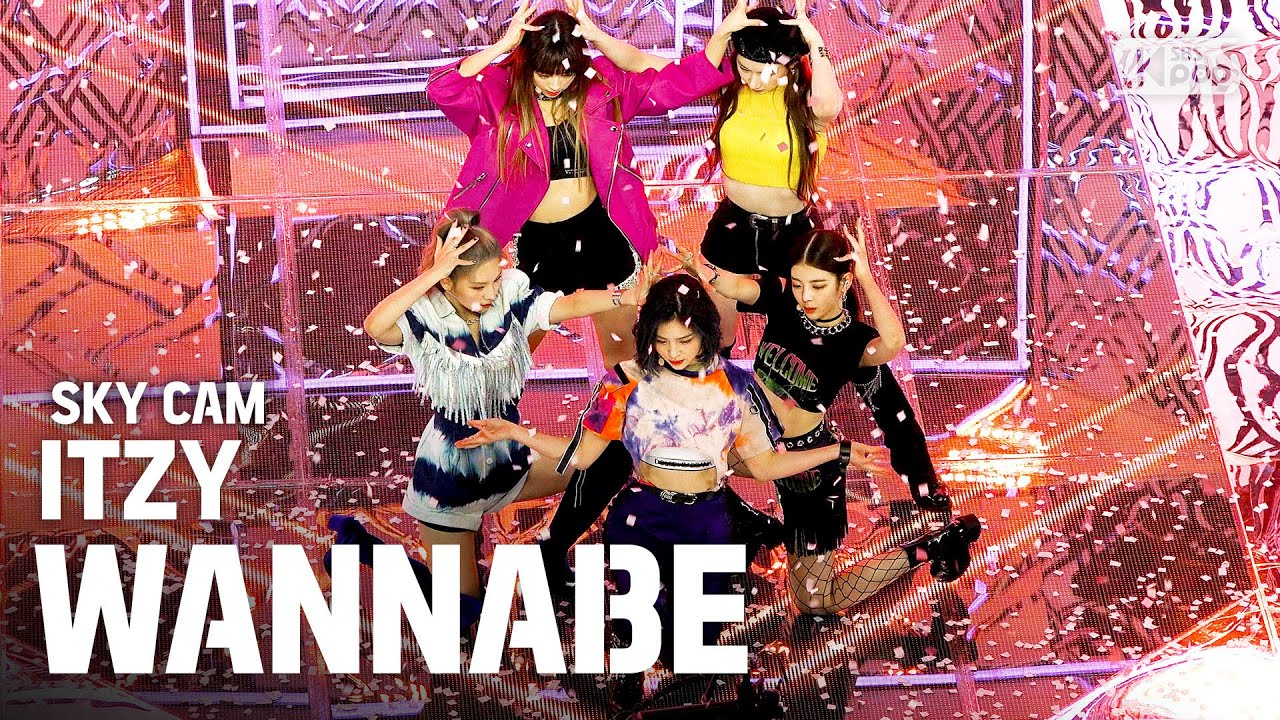 [항공캠4K] ITZY 'WANNABE' (ITZY 'WANNABE' High Angle Cam)│@SBS Inkigayo_2020.3.15
