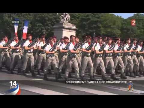 Le défilé militaire du 14 juillet 2013 complet (HD)