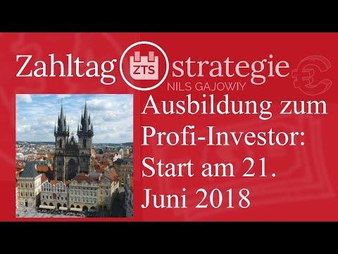 Die Ausbildung zum Profi-Investor: Start am 21. Juni 2018