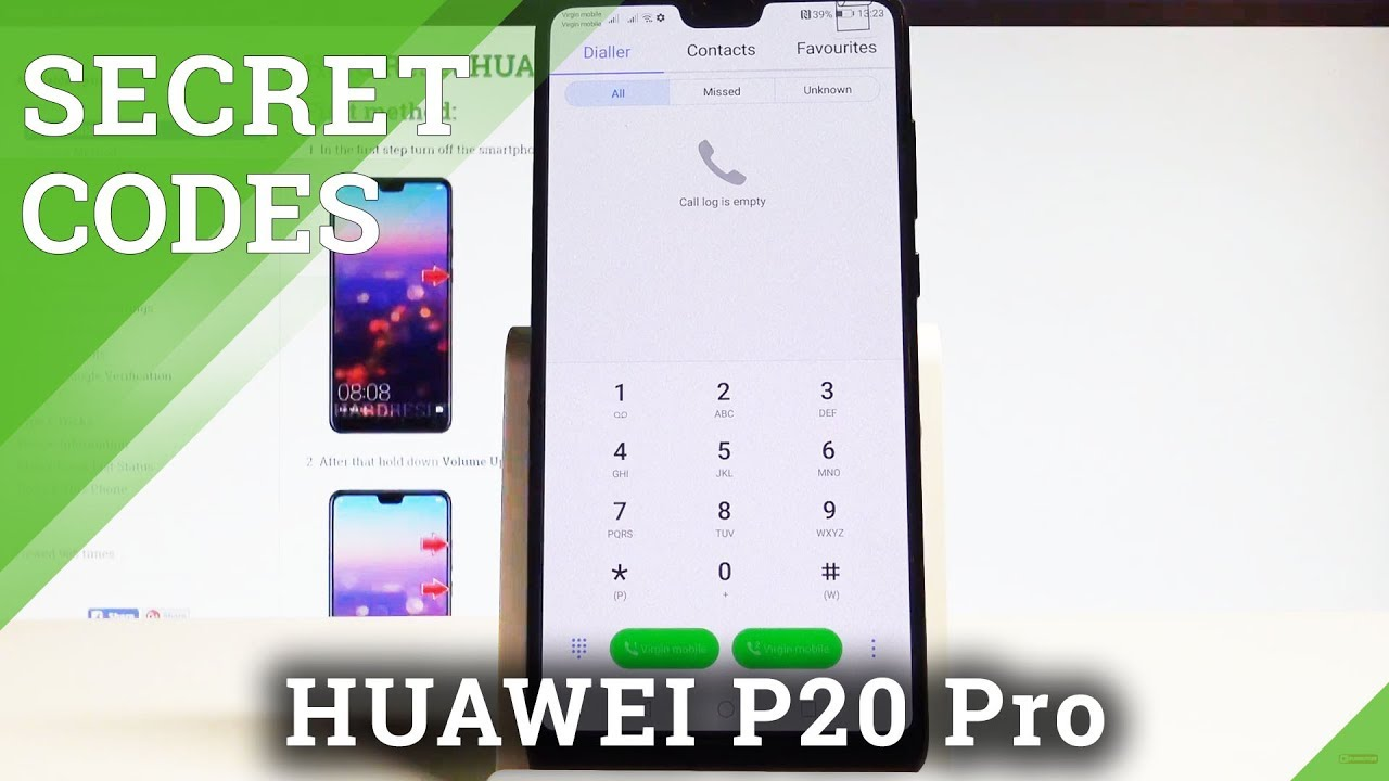 Secret Codes HUAWEI P20 Pro - Hidden Mode / Tricks / Service Settings  |HardReset Info