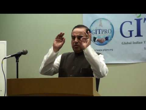 Subramanian Swamy speech on 2G Spectrum Scam in Mountain View, California on Aug, 2011Full 2 2 2 2 2