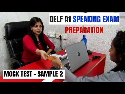 FRENCH - DELF A1 Production Orale - Speaking Exam Preparation