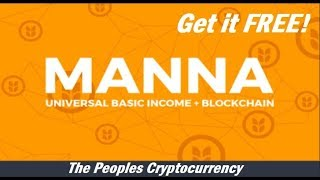 Gambar cover TOP Cryptocurrency FREE is MannaBase | The Peoples Crypto Basic Universal Income