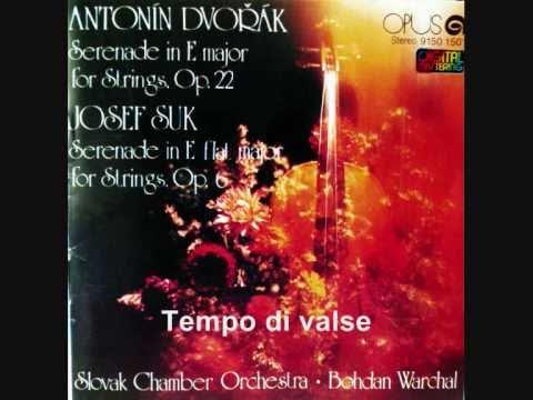 A.Dvořák Serenade in E major for Strings  (Complete)