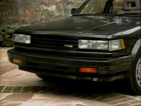 MotorWeek | Retro Review: '85 Nissan Maxima SE - YouTube