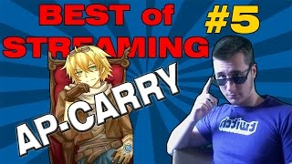 EZREAL (AP)CARRY NEW META - BEST STREAMING MOMENTS #5