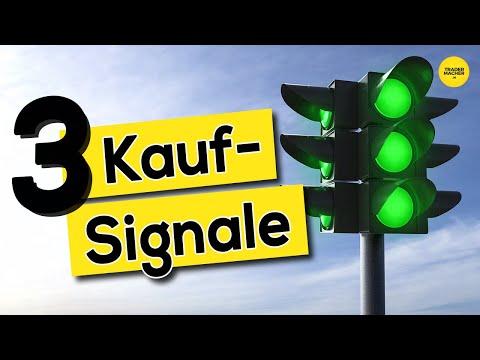 3 Kauf-Signale und meine Kursziele!