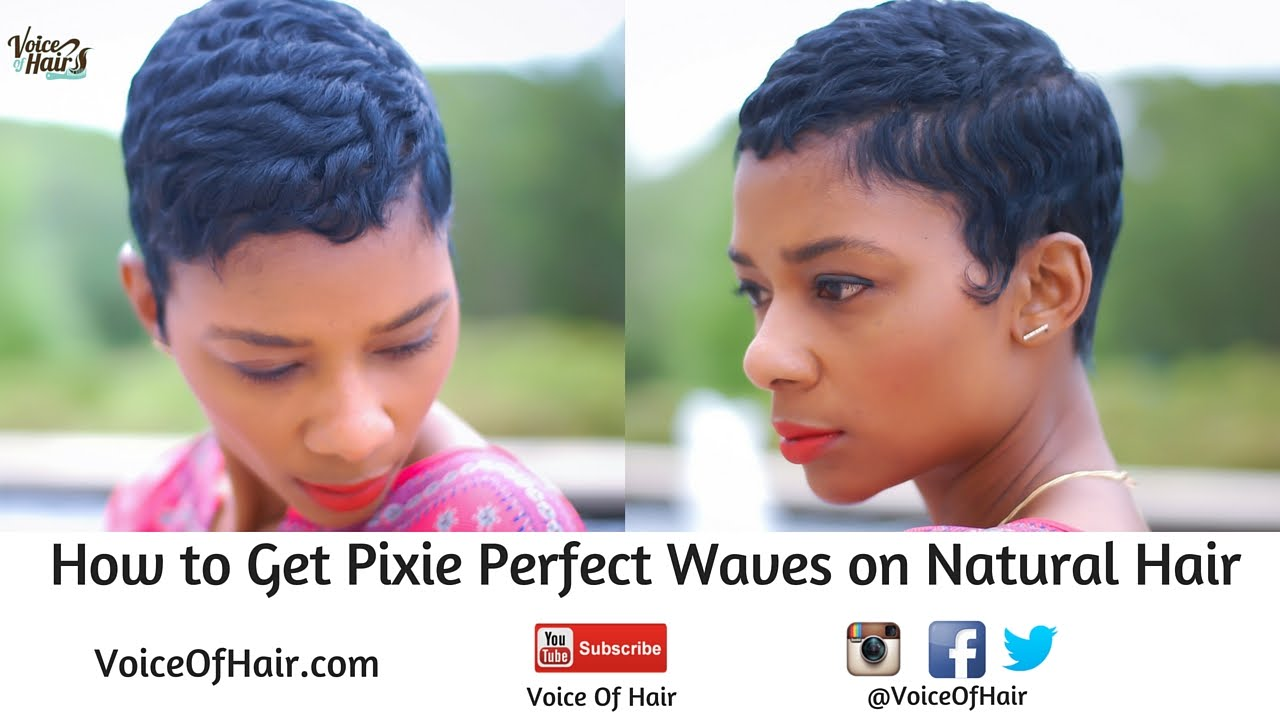 how to style waves in hair how to achieve pixie waves on hair no 6652