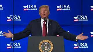 Trump Touts Economy at Wisconsin Ground-Breaking