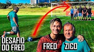 Aprenda a bater falta com o Zico - Desafio do Fred