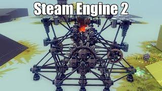 Besiege - Steam Engine Prototype 2