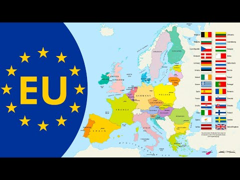 Countries of the European Union [2019] - EU Member States with Flags