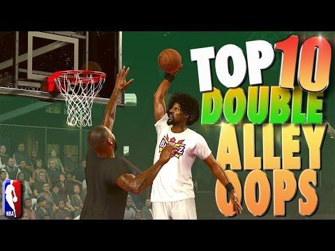 """NBA 2K17 TOP 10 """"DOUBLE ALLEY-OOP"""" Plays Of The Week!"""