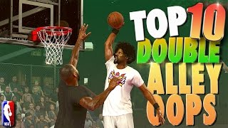 "NBA 2K17 TOP 10 ""DOUBLE ALLEY-OOP"" Plays Of The Week! Video"