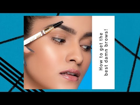 How to get the best damn BROWS   Meghna Kaur   New Launch   MyGlamm