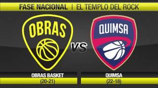 Highlights Obras Basket 116-89 Quimsa (16-3-2017)