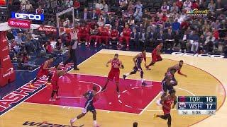 1st Quarter, One Box Video: Washington Wizards vs. Toronto Raptors